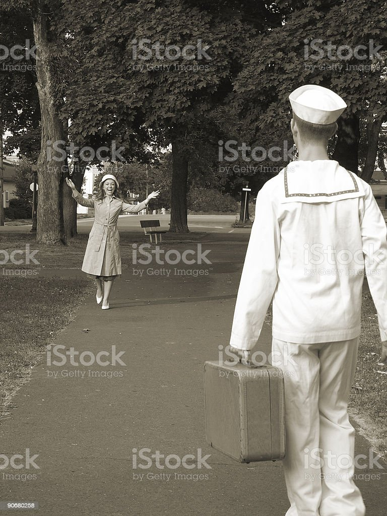 Home Again! royalty-free stock photo