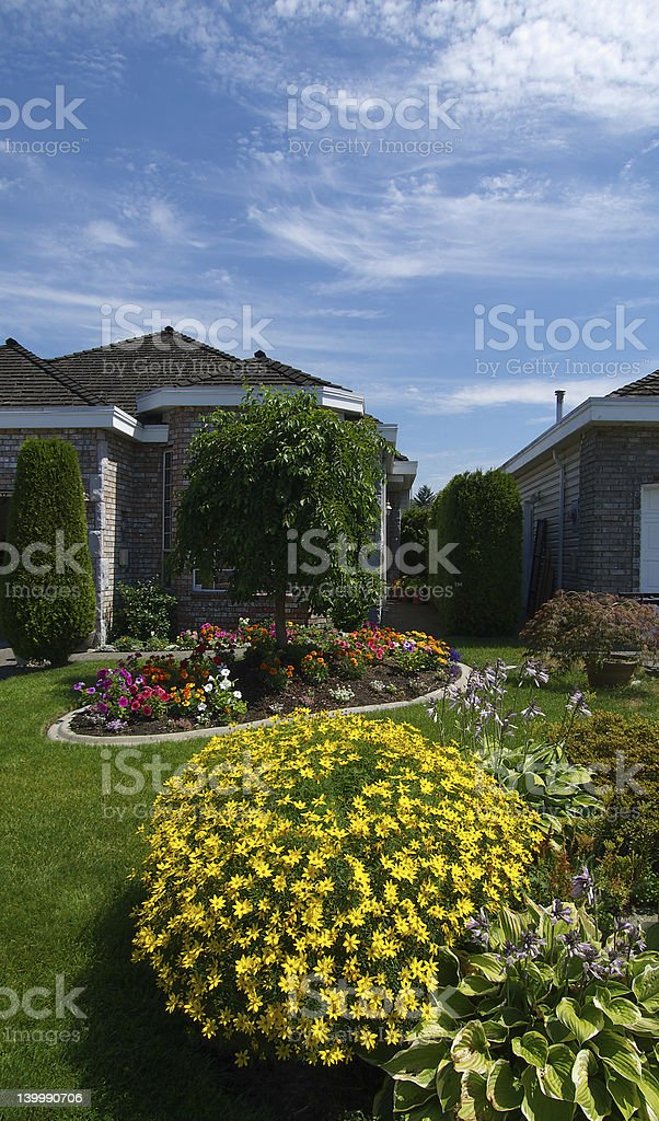 Home and gardens stock photo