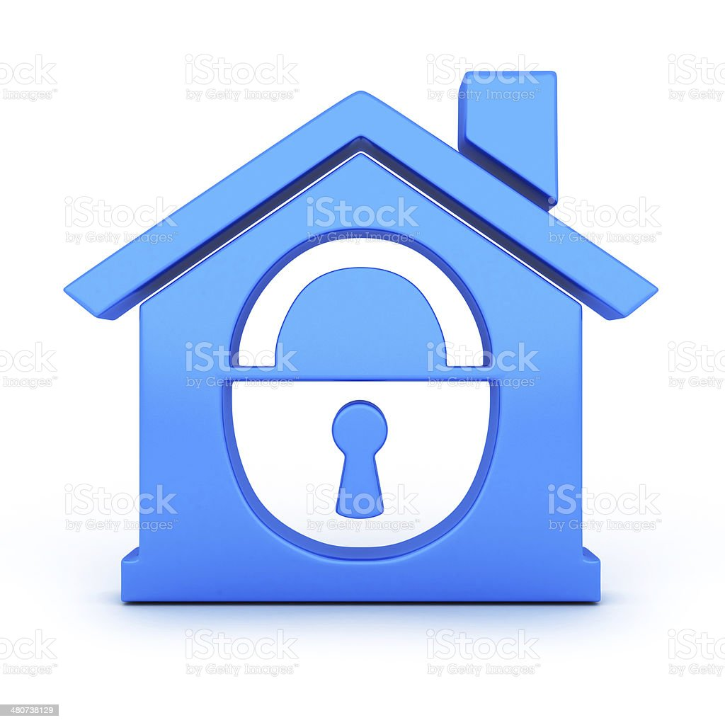 Home and lock stock photo