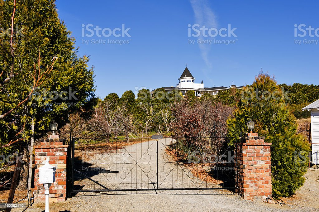 Home and Orchard royalty-free stock photo