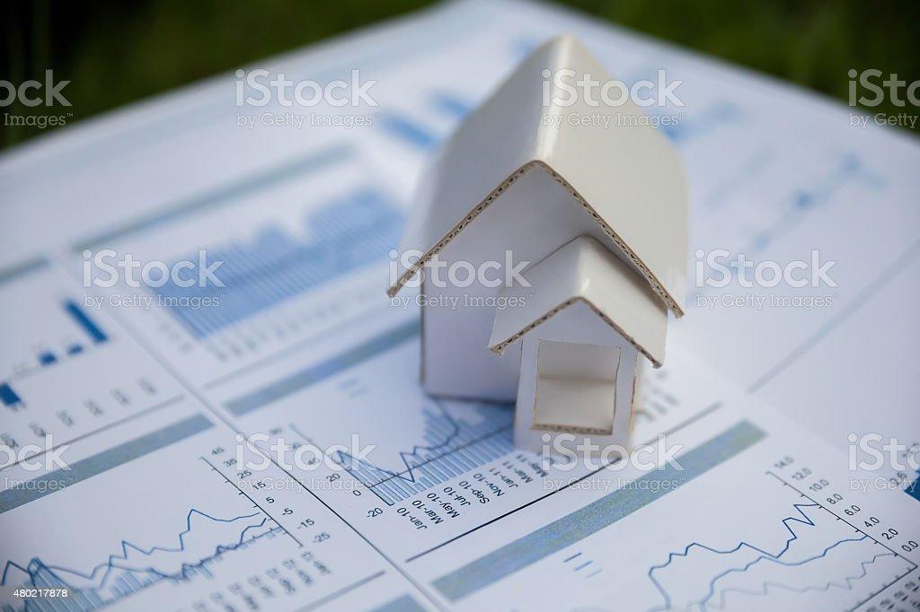 Home artificial. stock photo
