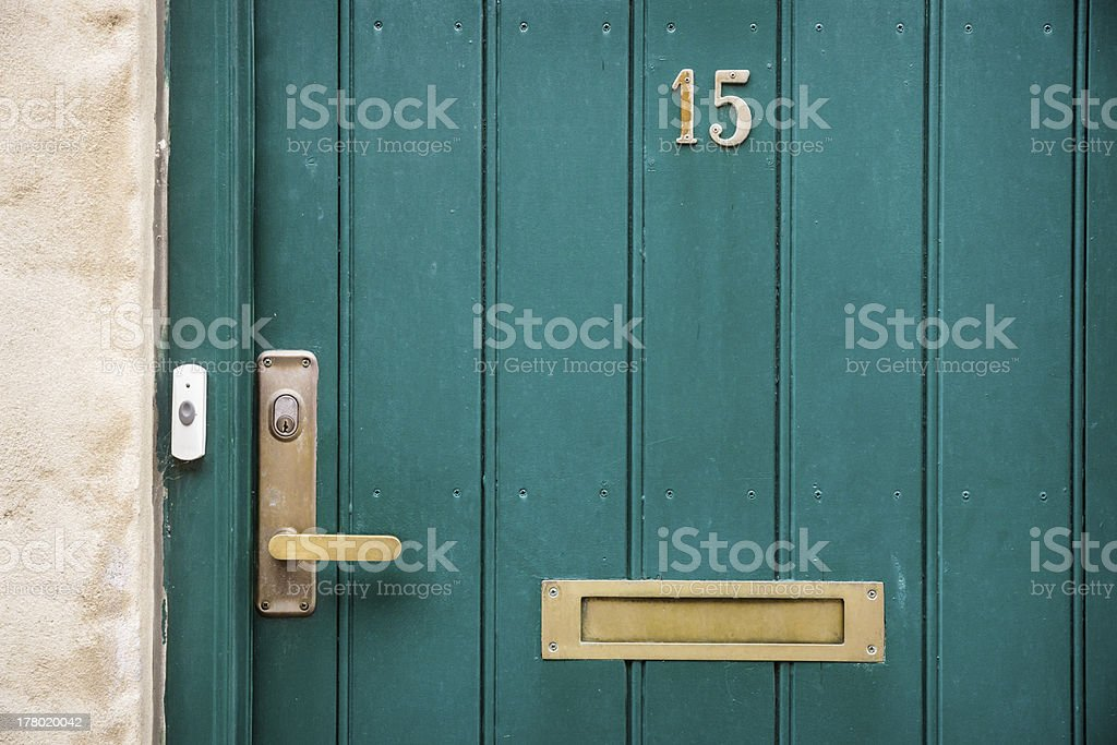 Home at fifteen stock photo