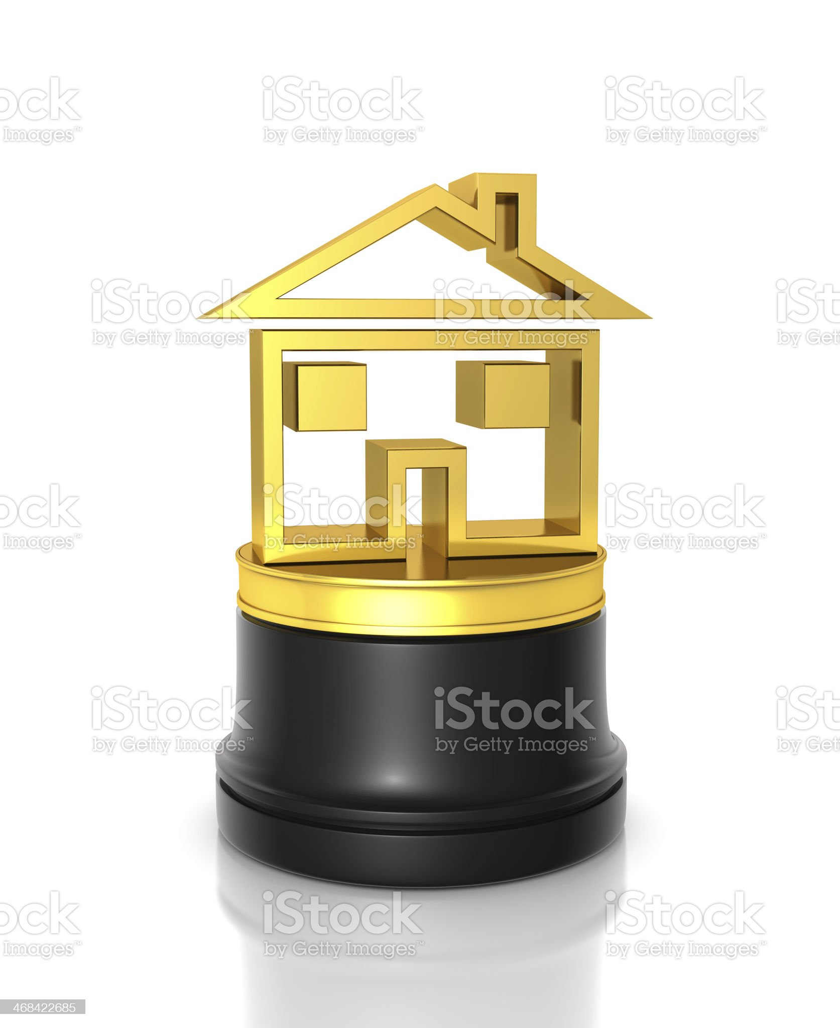 Home Award royalty-free stock photo