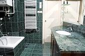 Home bathroom interior