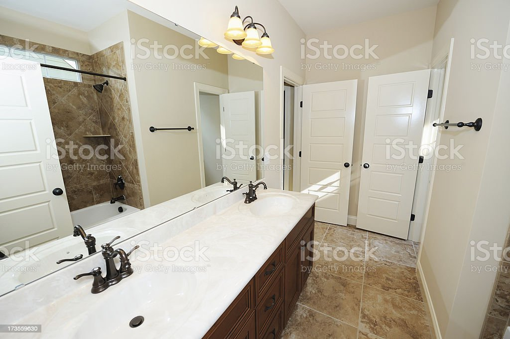 Home Bathroom royalty-free stock photo