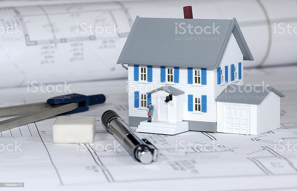 Home Builder 2 royalty-free stock photo