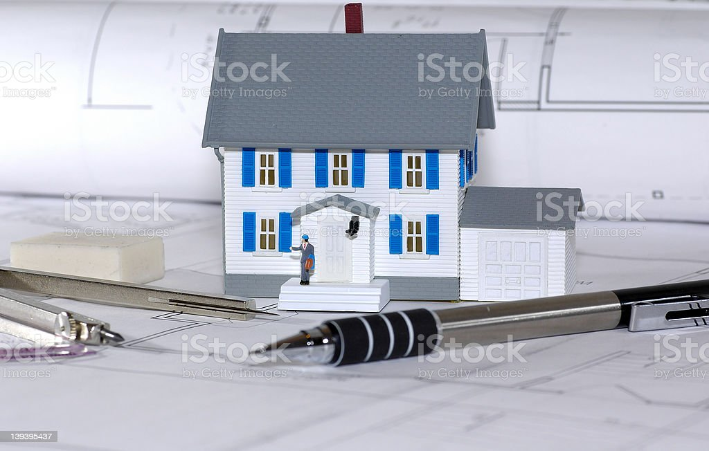 Home Builder royalty-free stock photo
