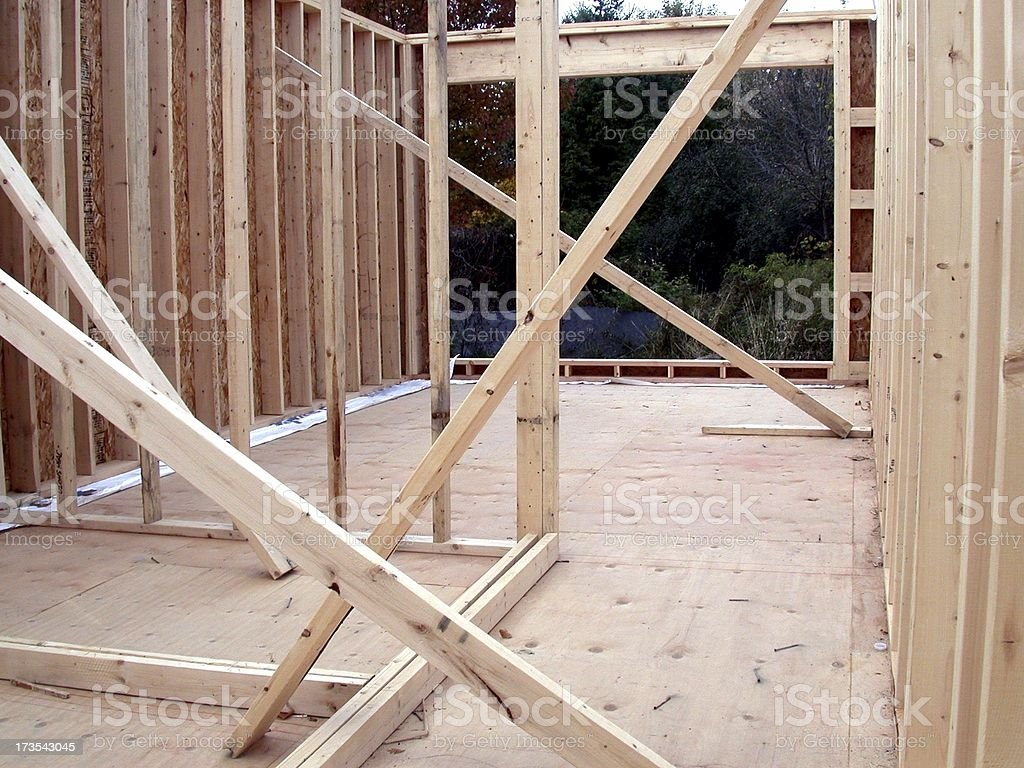 Home Building royalty-free stock photo