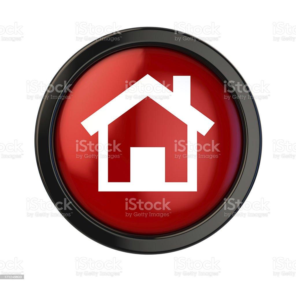 Home Button stock photo
