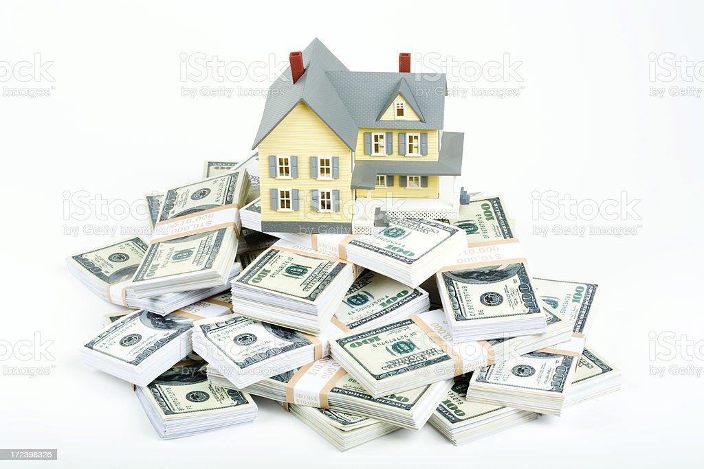 Home buying concept royalty-free stock photo