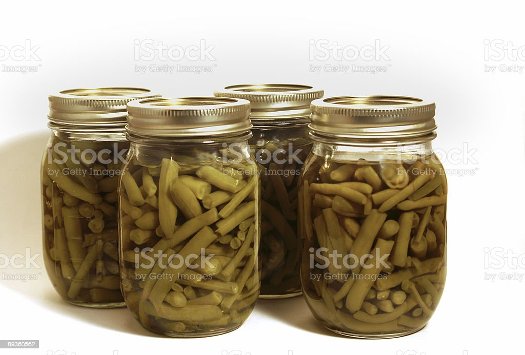Home canned vegetables royalty-free stock photo