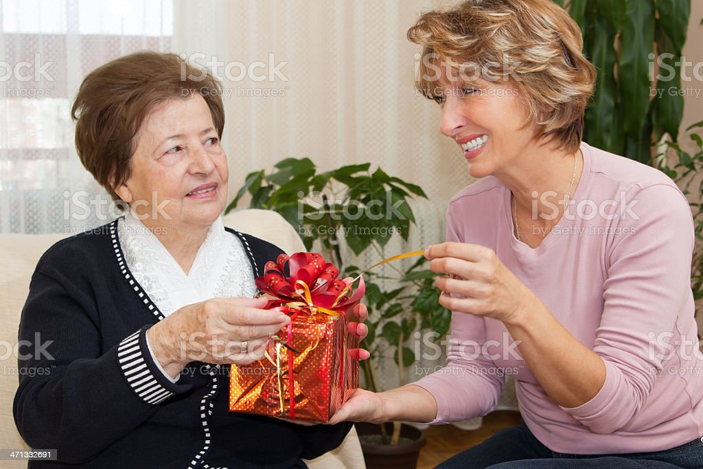 Home Caregiver royalty-free stock photo