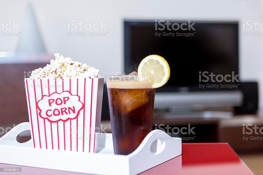 home cinema stock photo