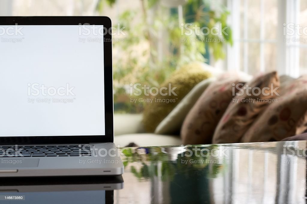 Home Computer Desk royalty-free stock photo