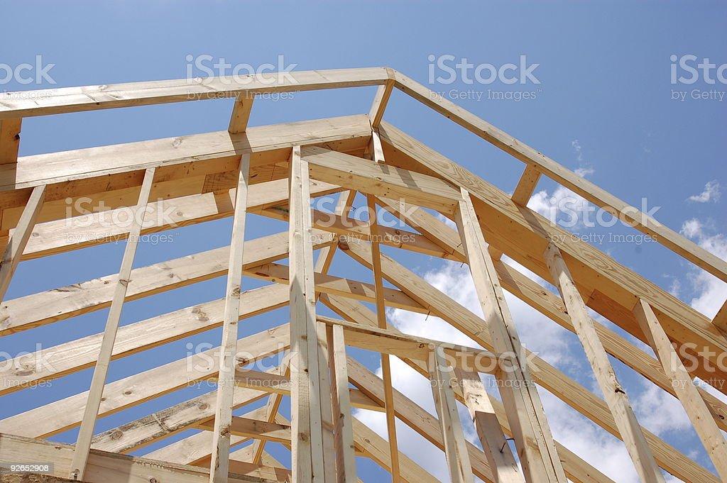 Construction de maison photo libre de droits