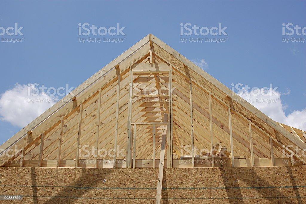 De la Construction sur le toit photo libre de droits
