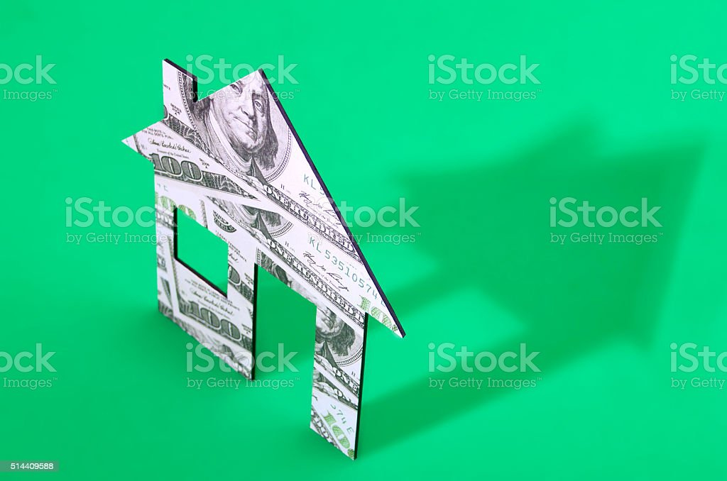 Home costs stock photo