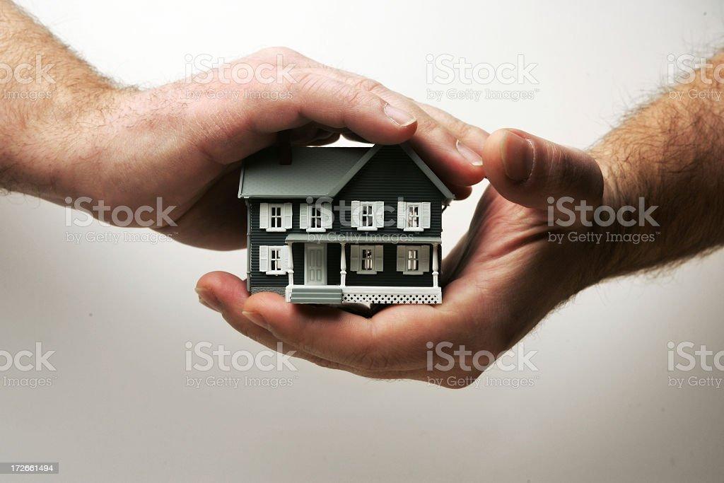 Home coverage stock photo