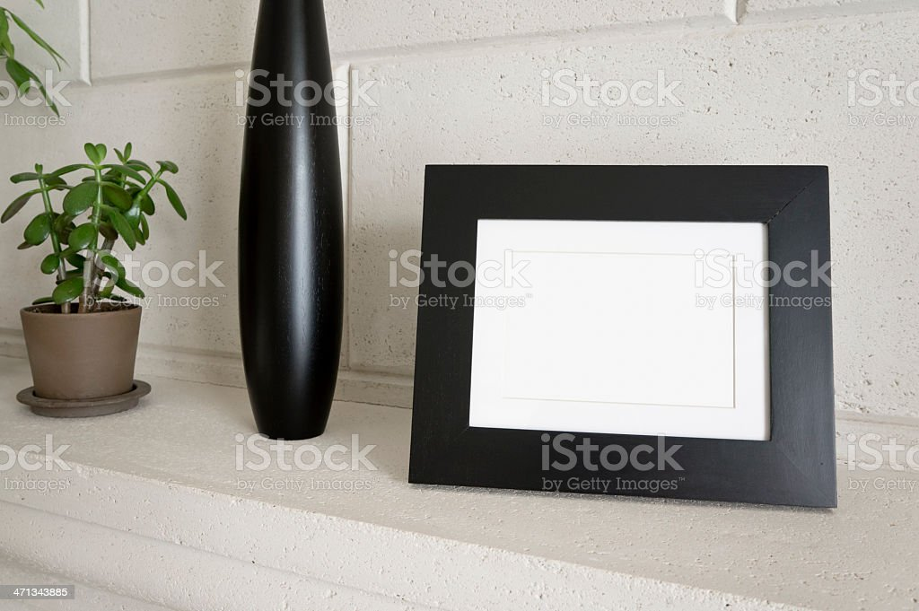 Home Decor - Photo Frame stock photo
