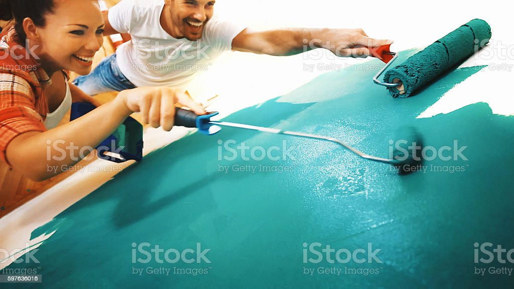 Home decoration. stock photo