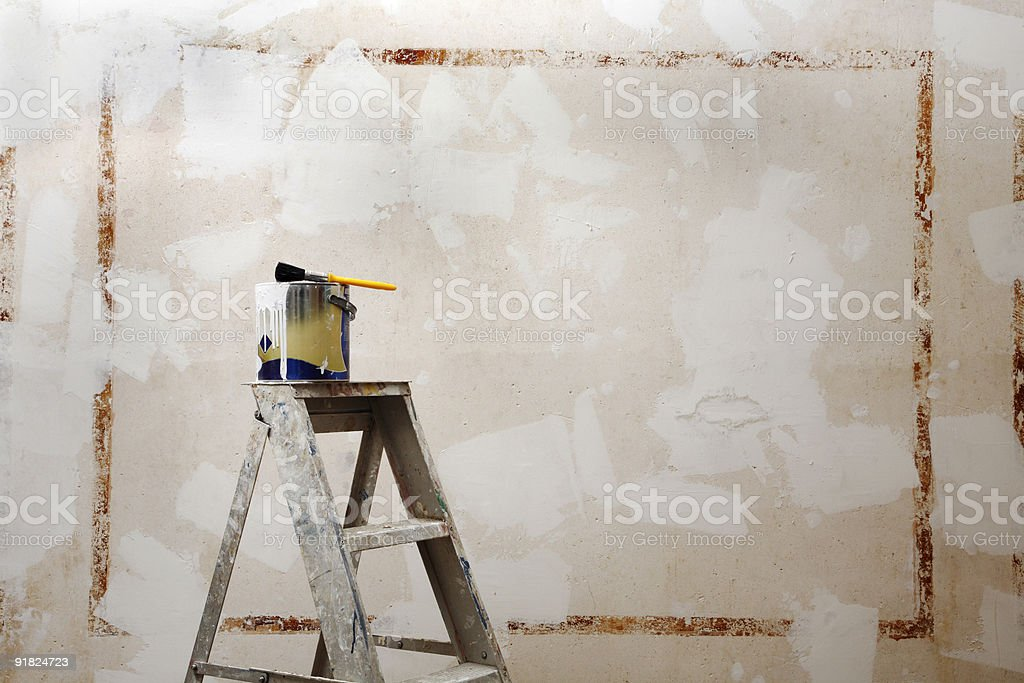 DIY home decoration royalty-free stock photo