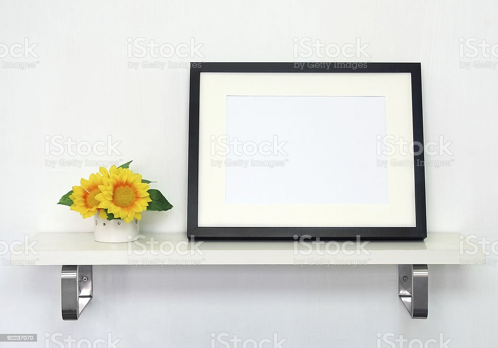 Home Decoration Shelf royalty-free stock photo
