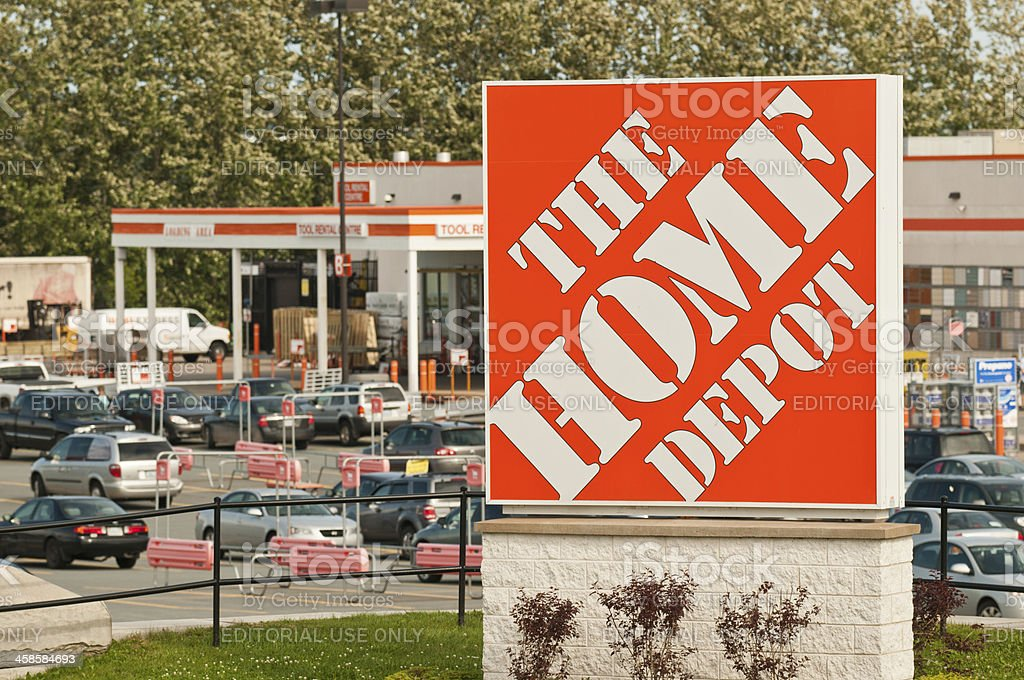 Home Depot stock photo