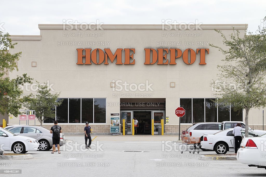 Home Depot store in West Palm Beach, Florida, USA. royalty-free stock photo