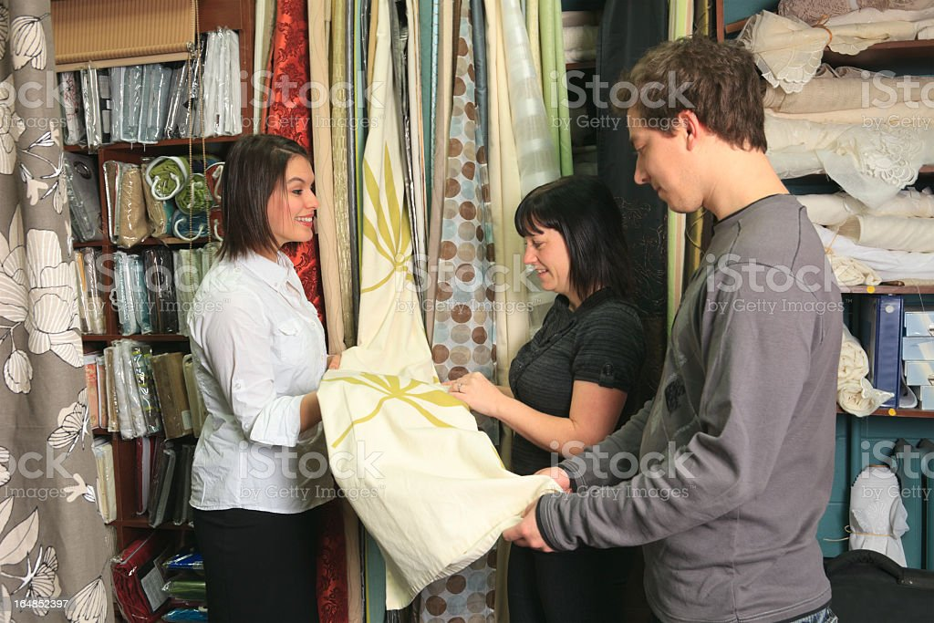 Home Design Shop - Seller Show Shower Curtains royalty-free stock photo