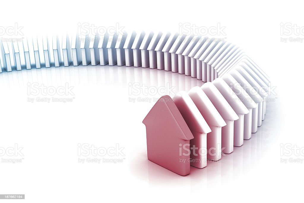 Home Domino royalty-free stock photo