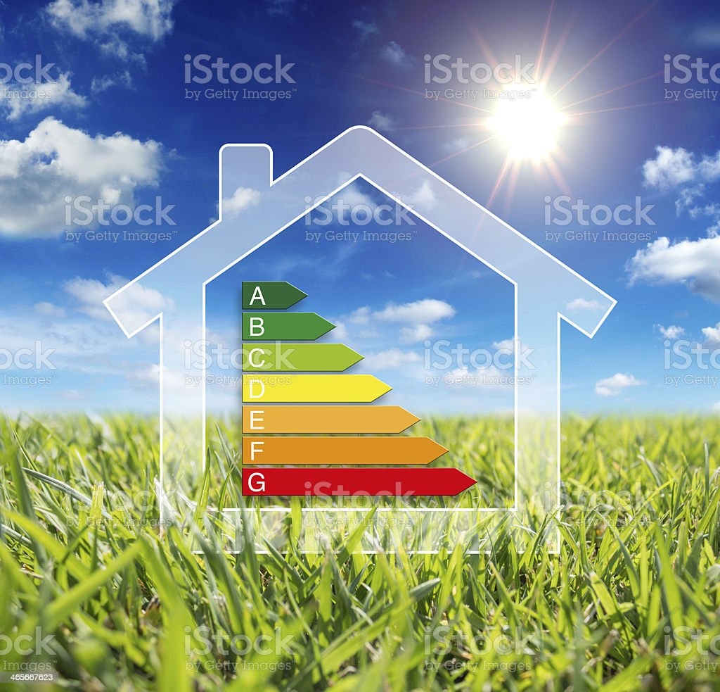 home energy - consumption wattage stock photo