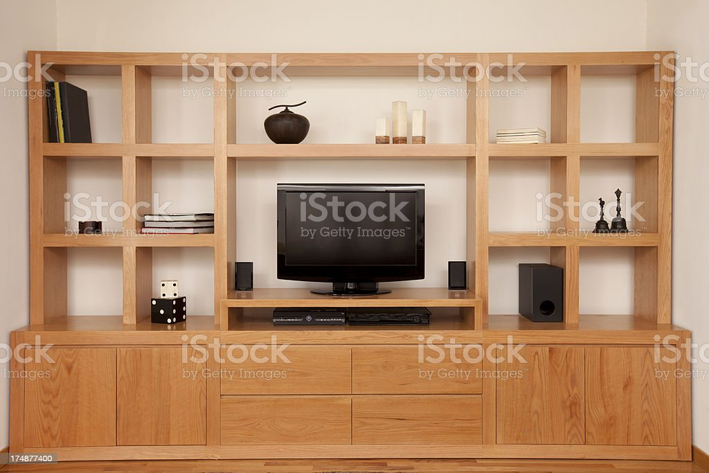 Home Entertainment Center royalty-free stock photo