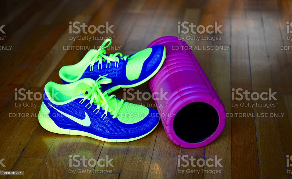 Home exercise equipment - Nike Free Run+ Men\'s Running Shoes and a...