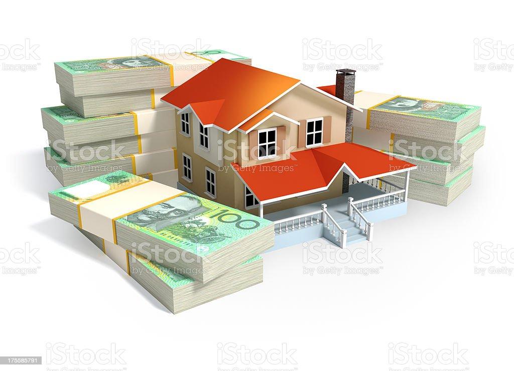 Home finance in Australia stock photo