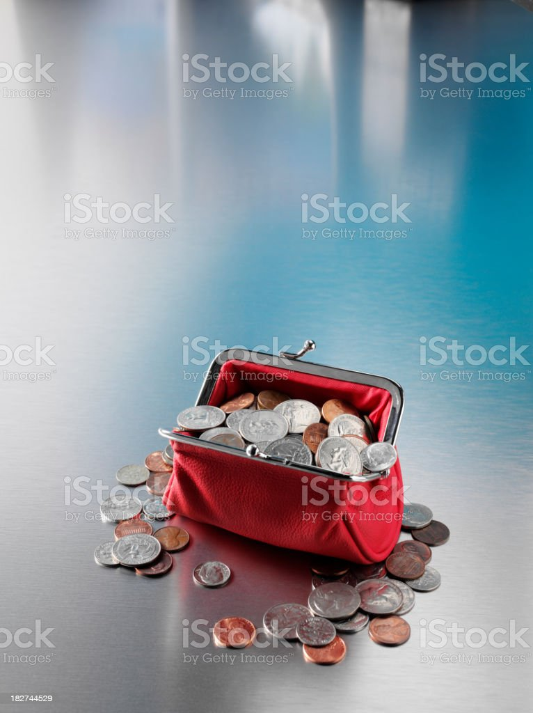 Home Finance in Dollars stock photo
