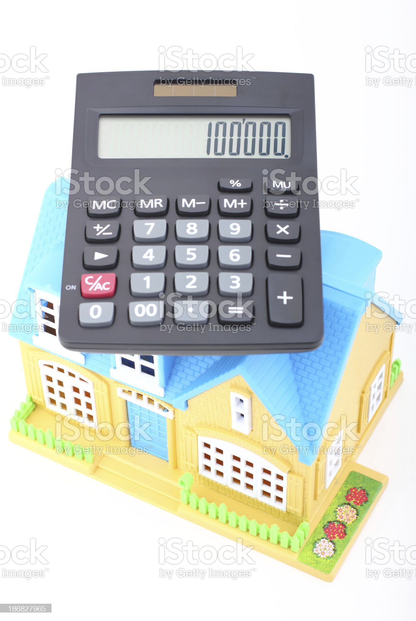 Home Financing royalty-free stock photo