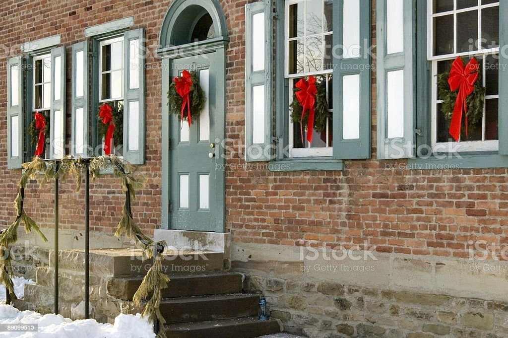 Home for Christmas royalty-free stock photo