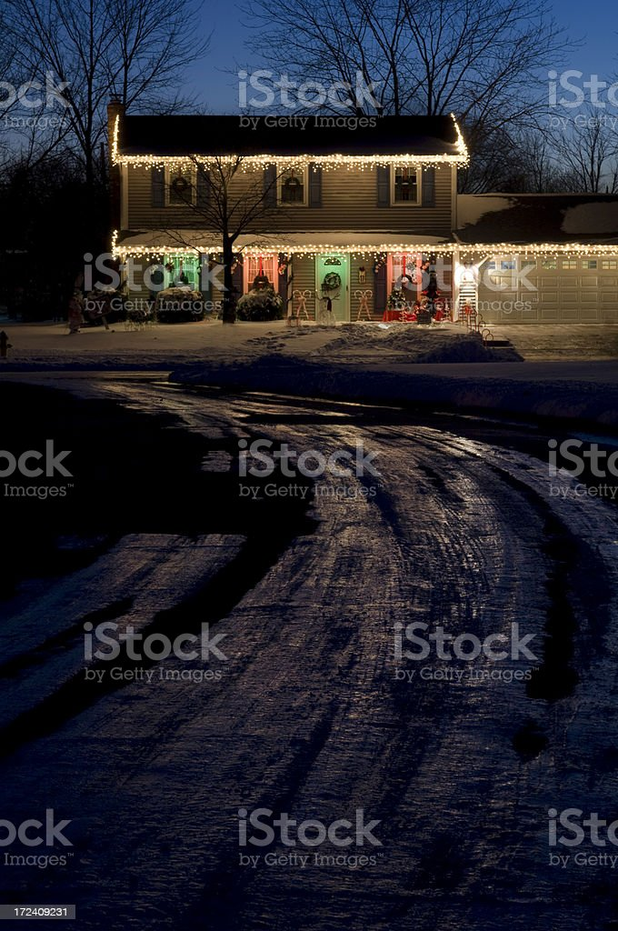 Home For The Holidays royalty-free stock photo