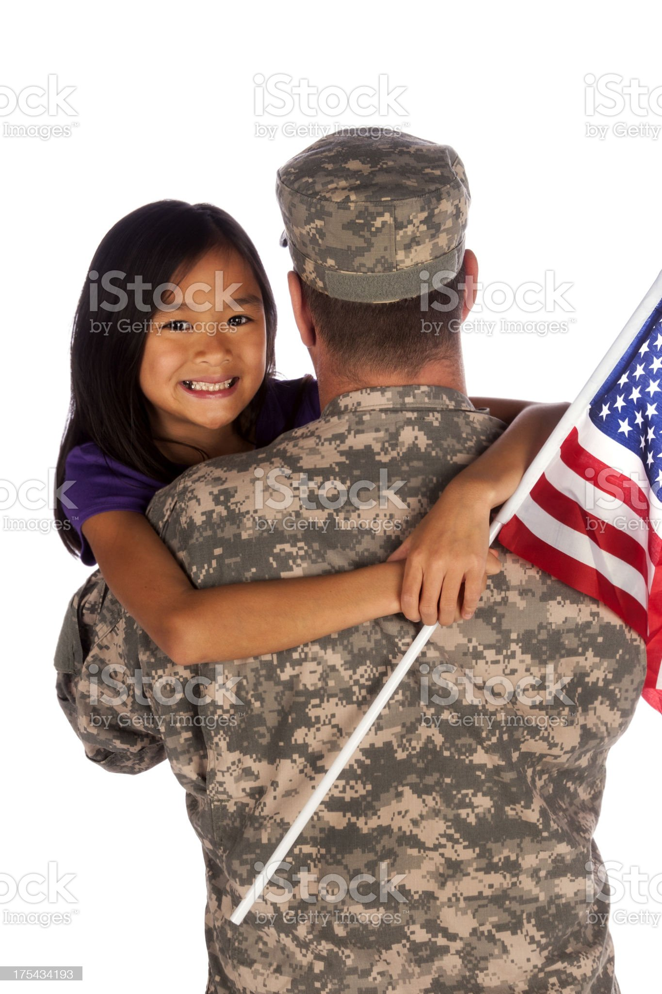 Home from Deployment (series) royalty-free stock photo