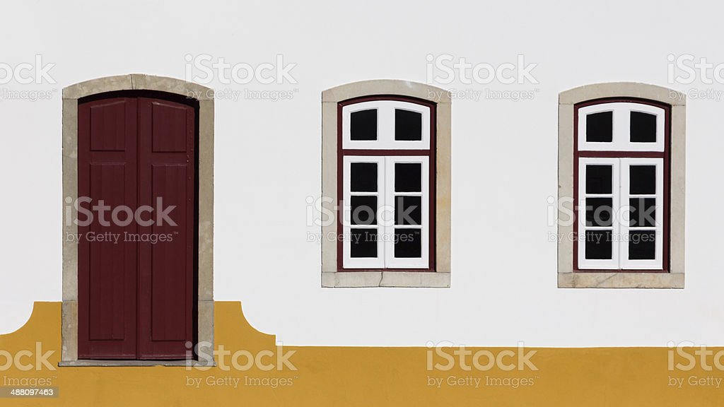 Home front stock photo