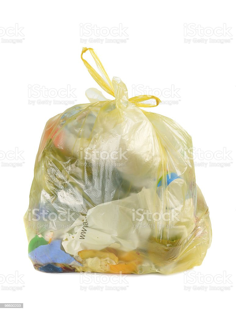 Home Garbage stock photo
