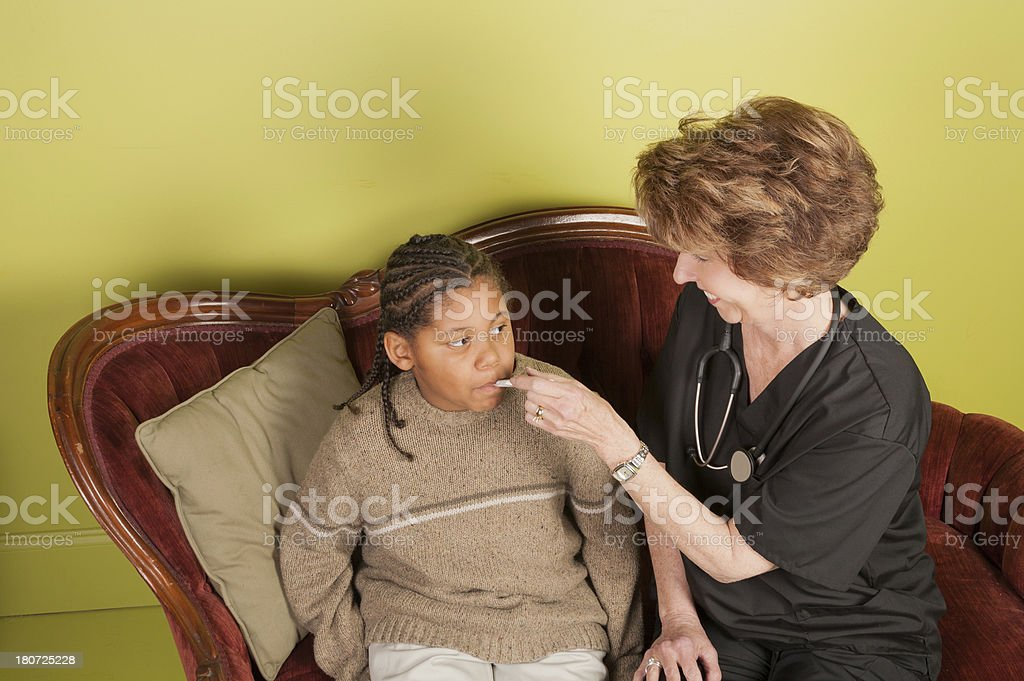Home Healthcare royalty-free stock photo