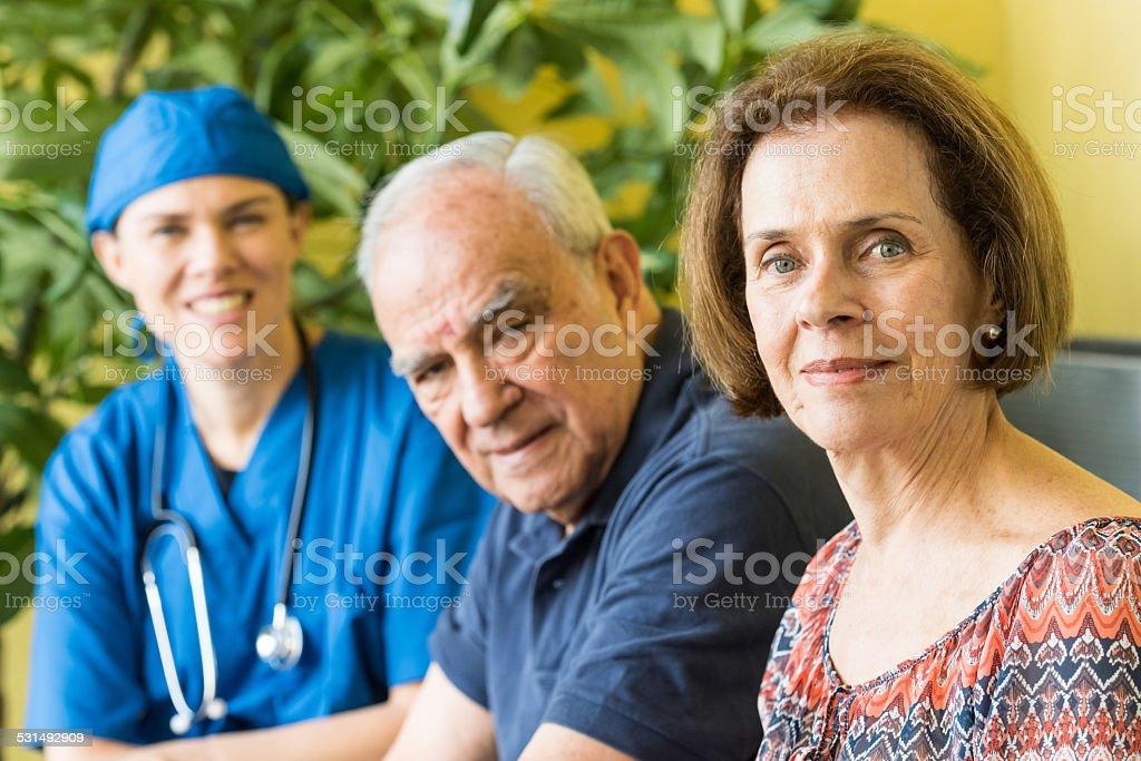 Home healthcare stock photo
