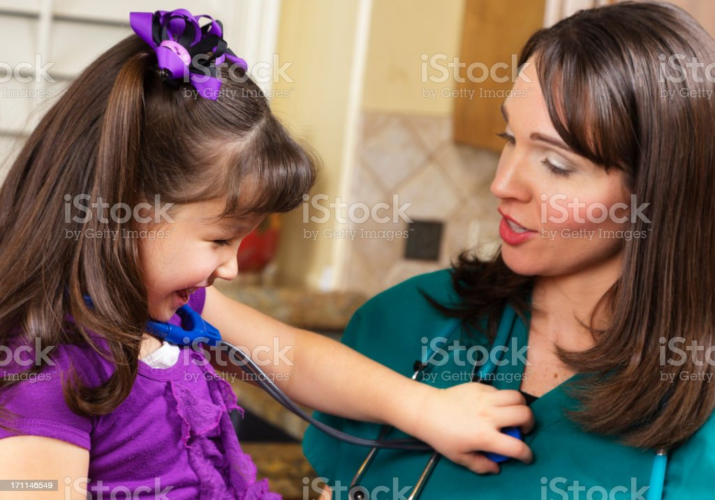 Home Healthcare Provider royalty-free stock photo