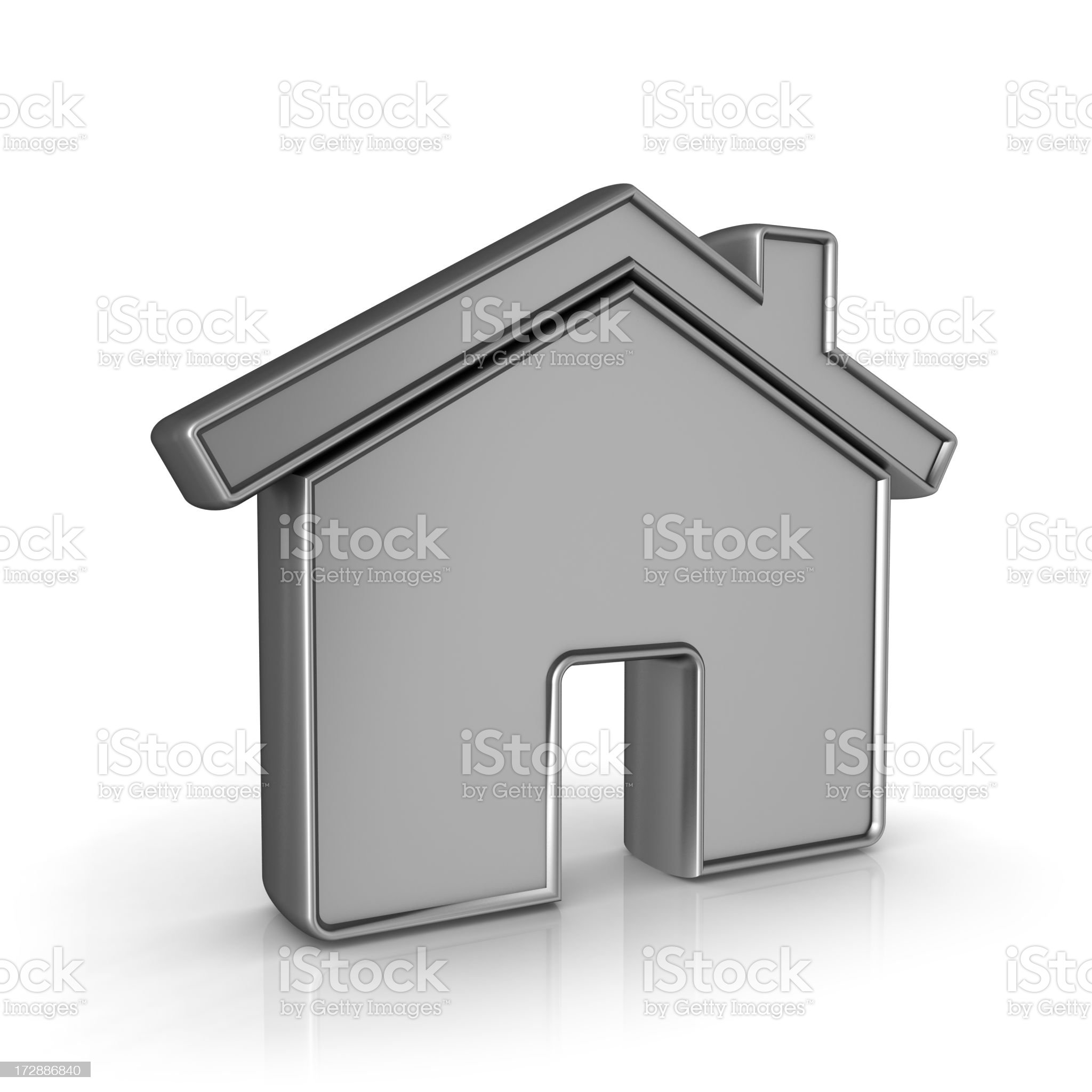 home icon royalty-free stock photo