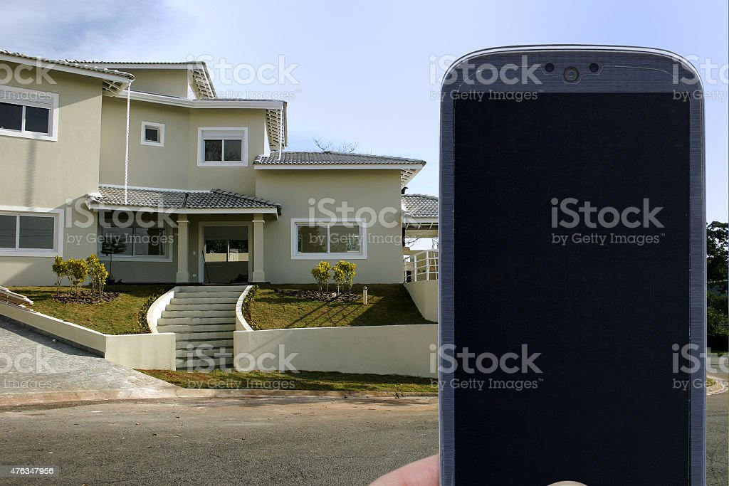 Home improvement application stock photo