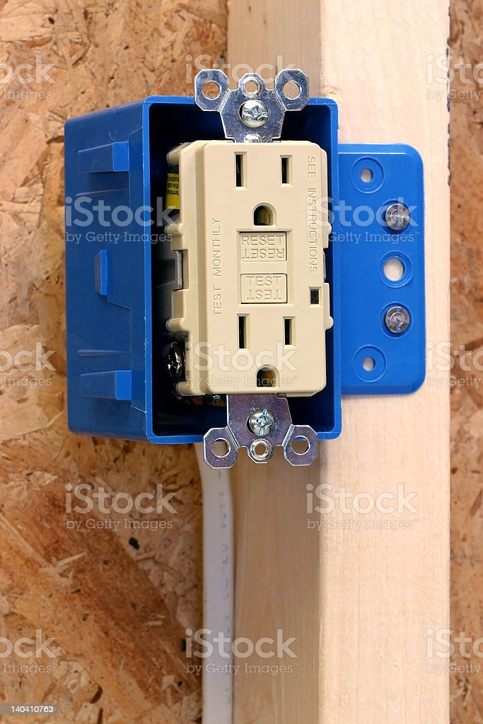 Home Improvement - Electrical stock photo