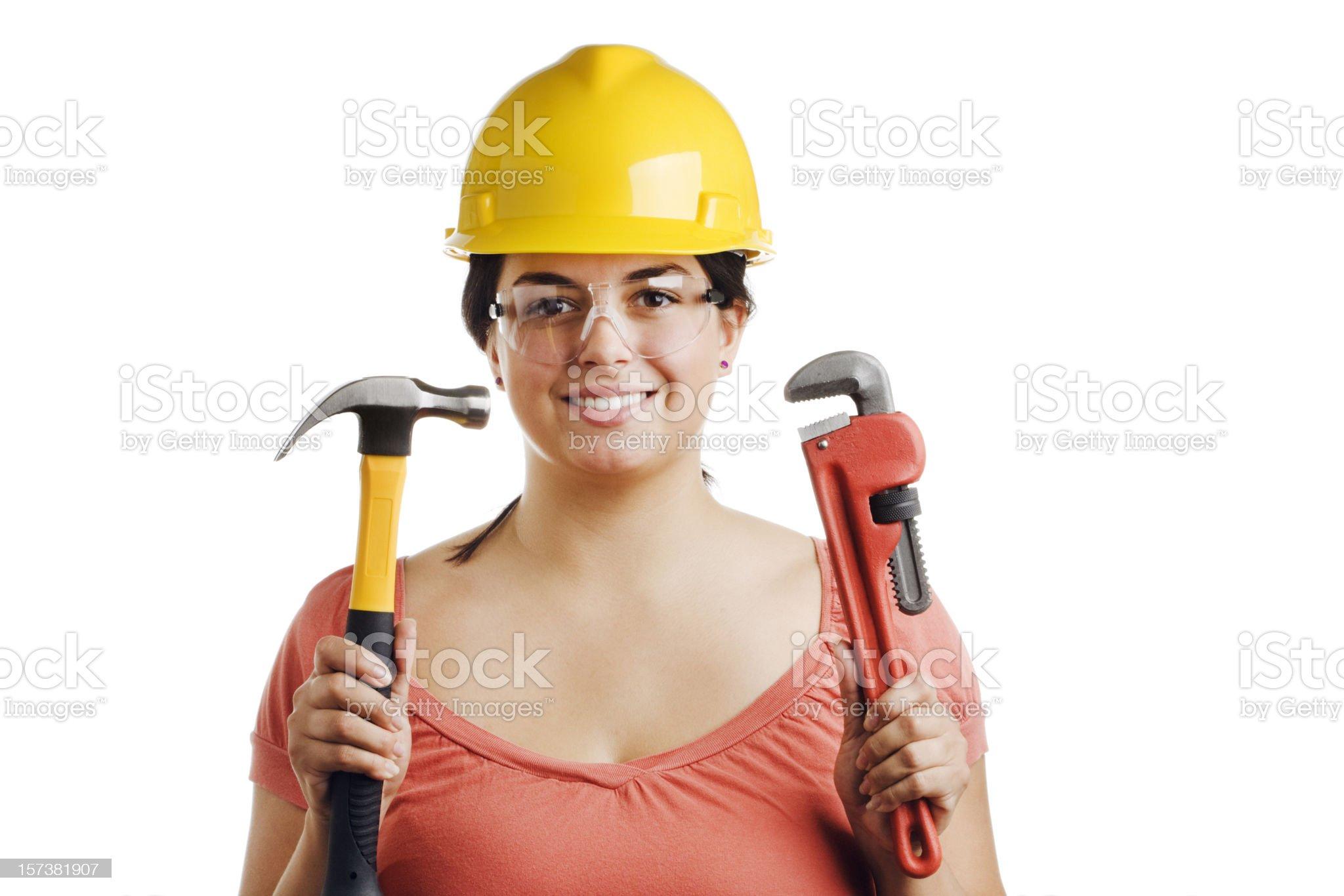 Home Improvement Expert royalty-free stock photo