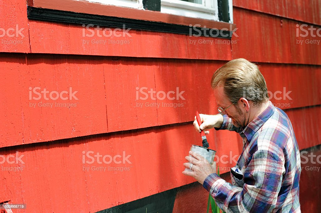 Home Improvement Painting stock photo