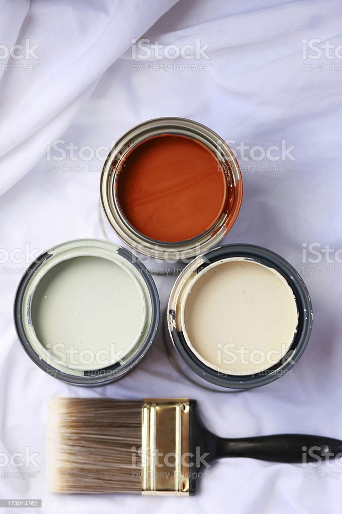 Home Improvement: Painting Series royalty-free stock photo